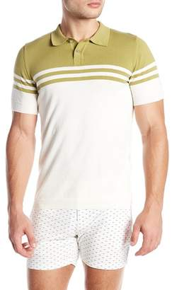 Parke & Ronen Short Sleeve Knit Polo