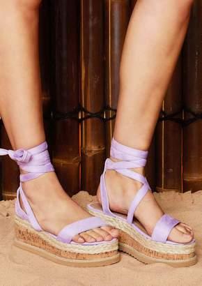 5155428537f at Missy Empire · Missy Empire Missyempire Jolene Lilac Suede Tie Up  Espadrille Platform Sandals