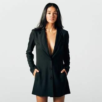 DSTLD Womens Blazer Dress in Black