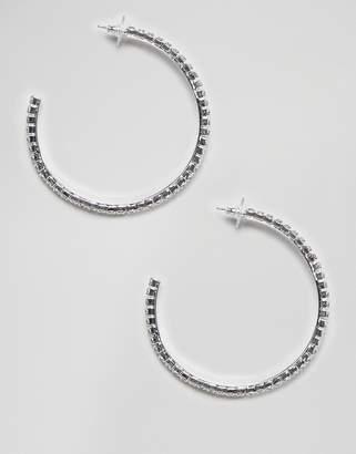 Swarovski Krystal London crystal hoop earrings