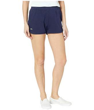 Lacoste Fleece Drawstring Tennis Shorts
