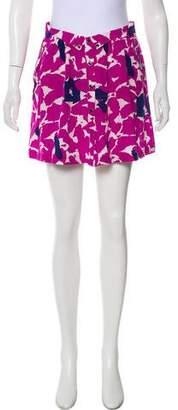 Yumi Kim Printed Mini Skirt w/ Tags