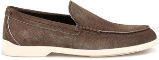 Tod's Tods Shaded Suede Casual Loafers