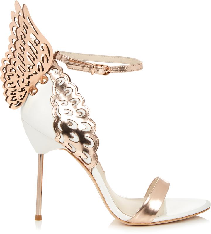 Sophia webster evangeline angel wing sandals shopstyle for Sophia webster wedding shoes