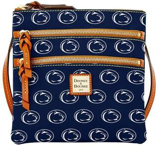 Dooney & Bourke NCAA Penn State Triple Zip Crossbody