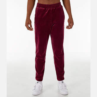 adidas Mens Velour Track Pants