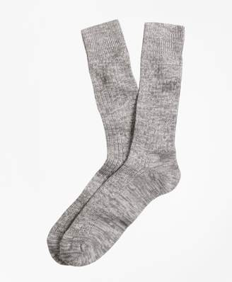 Brooks Brothers Marled Crew Socks