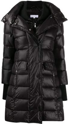 Patrizia Pepe thumb-hole padded coat