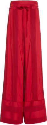Hellessy Rawlings Wide-Leg Jacquard Pants