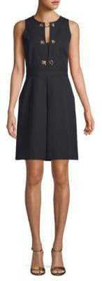 Derek Lam Grommet Sheath Dress