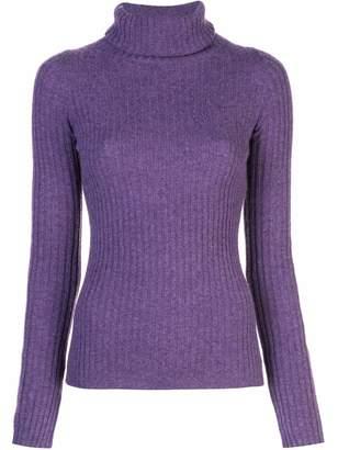 Nili Lotan Myla Turtleneck Ribbed Sweater
