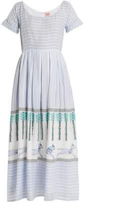 LE SIRENUSE, POSITANO Nola Horse and Palms maxi dress