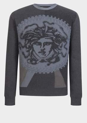 Versace Medusa Knitted Sweatshirt