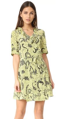 Diane von Furstenberg Savilla Dress $368 thestylecure.com