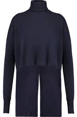 Tibi Merino Wool And Silk Turtleneck Sweater