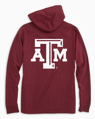 Southern Tide Gameday Skipjack Hoodie T-shirt - Texas A&M University