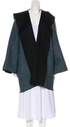 eskandar Hooded Oversize Coat