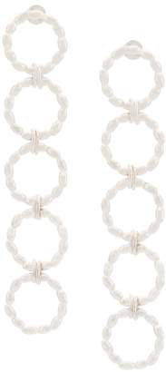 Bea Yuk Mui Bongiasca rice hoop drop earrings