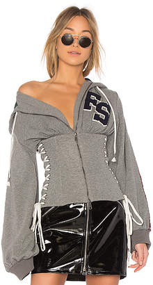 FENTY PUMA by Rihanna Side Lace Up Hoodie