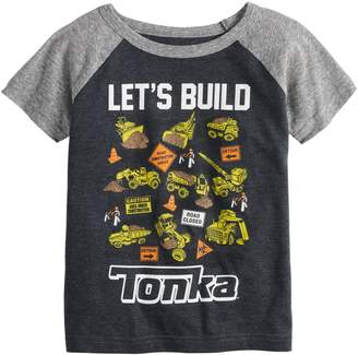 "Toddler Boy Jumping Beans Tonka ""Let's Build"" Raglan Graphic Tee"