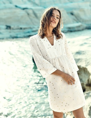 Evangeline Linen Tunic