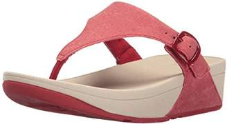 FitFlop Women's The Skinny Canvas Toe Thong Flip Flop
