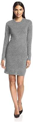 Society New York Women's Button Trim Sweater Dress