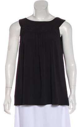 ALICE by Temperley Embroidered Sleeveless Top