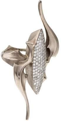 Ring 18K Diamond Angel Wing