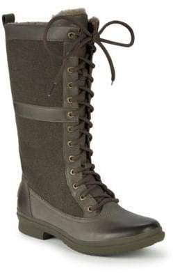 UGG Elvia UGGpure Lace-Up Outdoor Boots