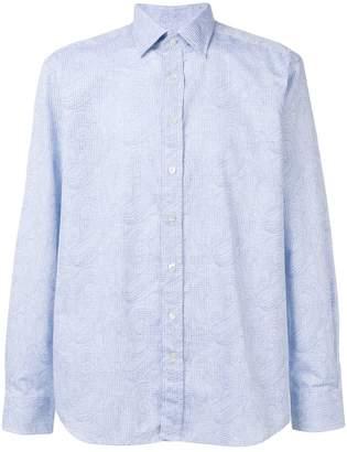 Etro long-sleeved patterned shirt