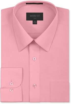 Ward St Men's Regular Fit Dress Shirts, Small, 14-14.5N 32/33S