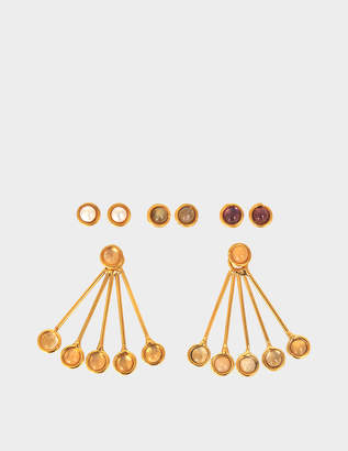 Sylvia Toledano Les Infidèles Ear Jacket set of earrings