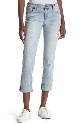 KUT from the Kloth Catherine Embroidered Boyfriend Jeans