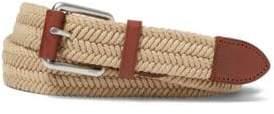 Polo Ralph Lauren Braided Waxed Cotton Belt