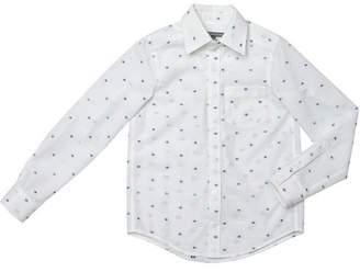 Factory Leny Tomy Polka Dots Oxford Style Shirt