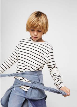 MANGO (マンゴ) - MANGO KIDS Tシャツ .-- MAF (ナチュラルホワイト)