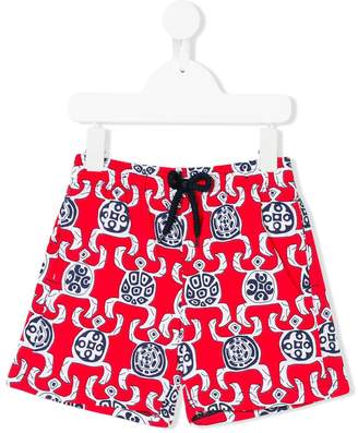 Vilebrequin Kids turtle print swim shorts