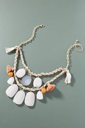 Anthropologie Spring Garland Bib Necklace