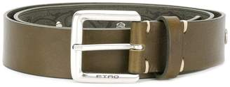 Etro animal embossed belt