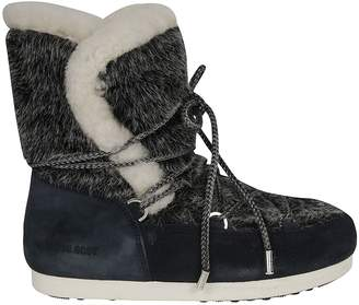 Moon Boot Far Side High Faux Fur Boots