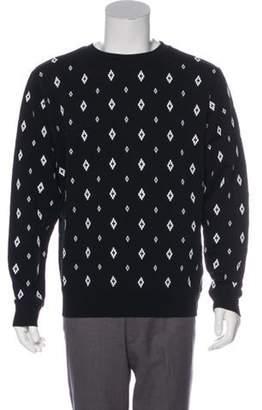 Marcelo Burlon County of Milan Cross Pattern Pullover Sweater black Cross Pattern Pullover Sweater