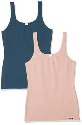 Skiny Women's Advantage Cotton Tank Top 2er Pack Vest,Pack of 2