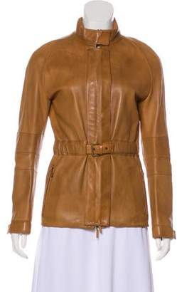 Burberry Lightweight Leather Jacket