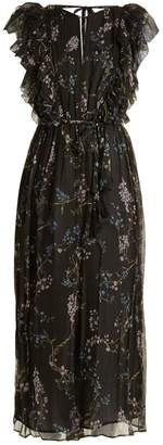 Zimmermann Paradiso floral-print silk jumpsuit