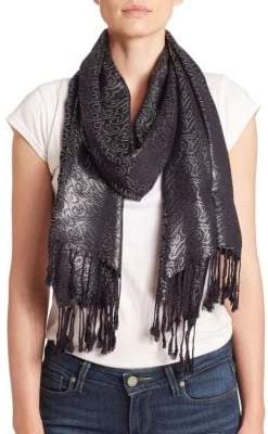 Collection 18 Metallic Swirl Scarf