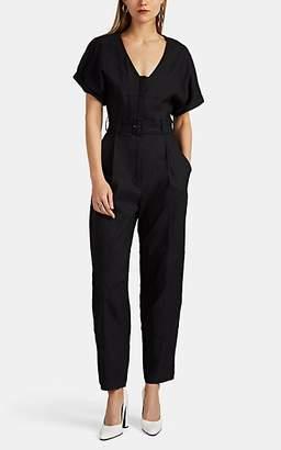A.L.C. Women's Quinton Linen-Blend Jumpsuit - Black