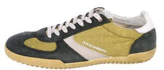 Dolce & Gabbana Canvas Low-Top Sneakers