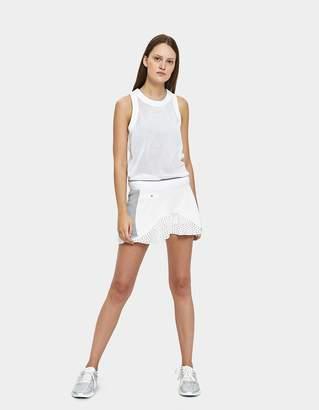 adidas by Stella McCartney aSMC Q1 Tennis Skirt in White