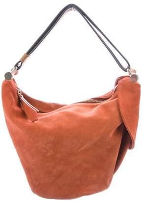 Atelier Manu Suede Handle Bag
